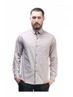 Мужская рубашка «Тенет» песочного цвета