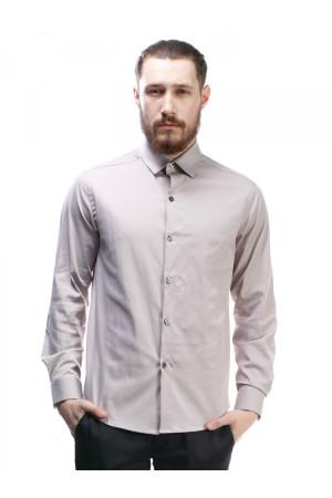 Чоловіча сорочка «Тенет» пісочного кольору