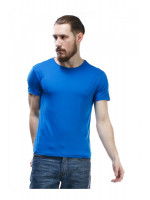 Футболка мужская «Чак» синего цвета