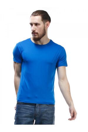 Футболка чоловіча «Чак» синього кольору
