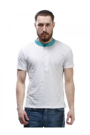 Футболка чоловіча «Кад» білого кольору