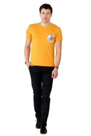 Футболка чоловіча «Філ» жовтого кольору