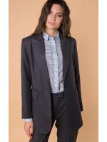 Пиджак «Айпери» серого цвета