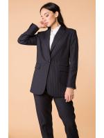 Пиджак «Алдона» черного цвета