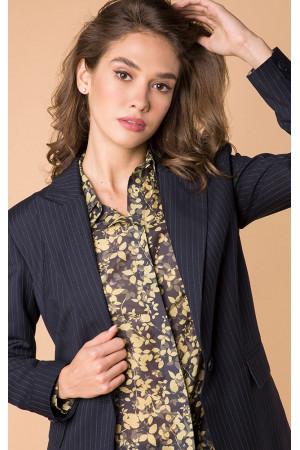 Пиджак «Алдона» синего цвета