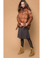 Женская куртка «Мина» цвета бронзы