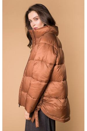 Жіноча куртка «Міна» кольору бронзи