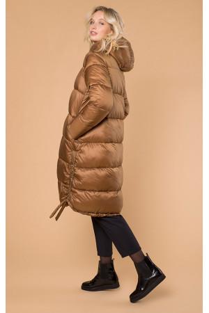 Жіноча куртка «Керолайн» кольору бронзи