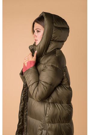 Жіноча куртка «Керолайн» кольору хакі