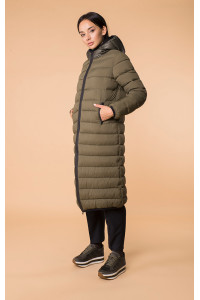 Женская куртка «Лизетта» цвета хаки