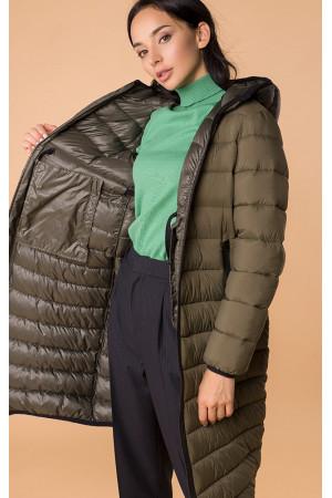 Жіноча куртка «Лізетта» кольору хакі