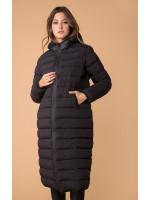 Жіноча куртка «Лізетта» чорного кольору