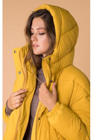 Жіноча куртка «Унга» жовтого кольору
