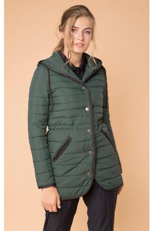 Женская куртка «Лийна» зеленого цвета