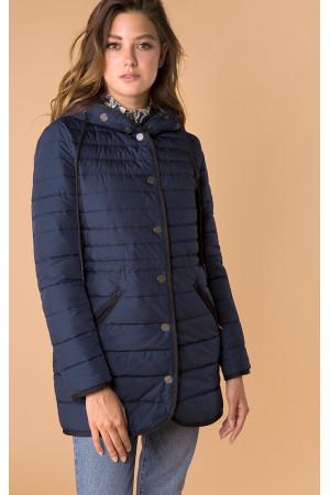 Жіноча куртка «Лійна» синього кольору