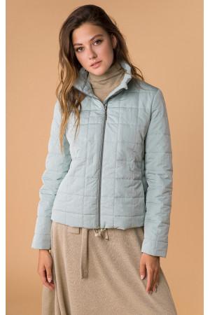 Женская куртка «Аврора» мятного цвета