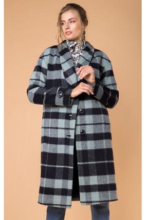 Пальто жіноче «Жанет» синього кольору