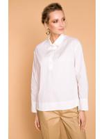 Блуза «Бенедикта» белого цвета