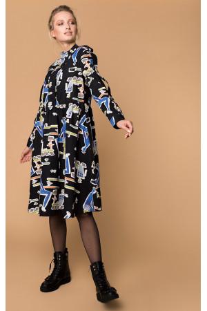 Сукня «Адалін» чорного кольору