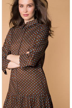 Сукня «Ада» коричневого кольору