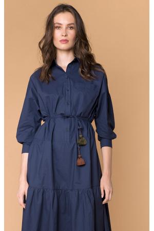 Сукня «Ізольда» синього кольору