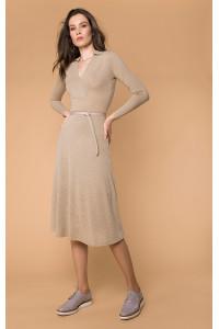 Сукня «Гінвіле» бежевого кольору