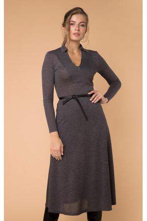 Платье «Гинвиле» серого цвета