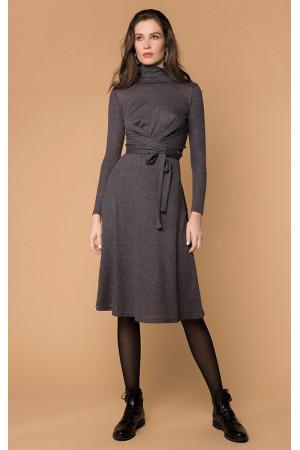 Сукня «Евія» сірого кольору