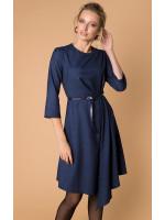 Платье «Марен» синего цвета