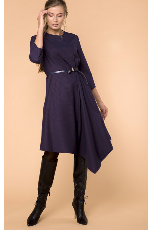 Платье «Марен» фиолетового цвета