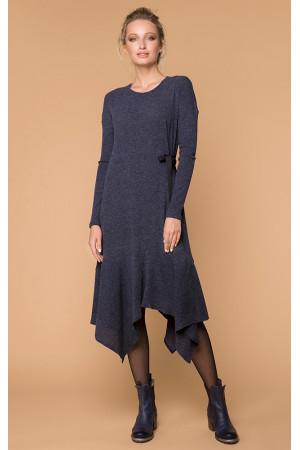 Платье «Биани» синего цвета