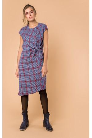 Платье «Марика» синего цвета