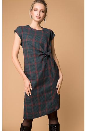 Платье «Марика» зеленого цвета