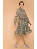 Сукня «Оліта» кольору хакі