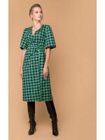 Сукня «Ілга» зеленого кольору