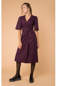 Сукня «Ілга» фіолетового кольору