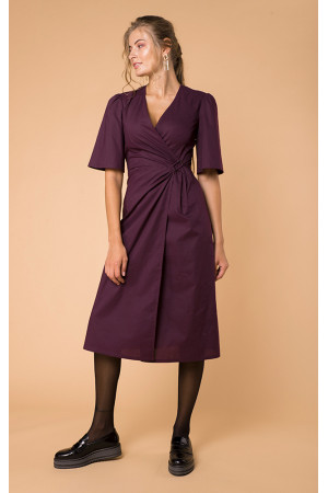 Платье «Илга» фиолетового цвета