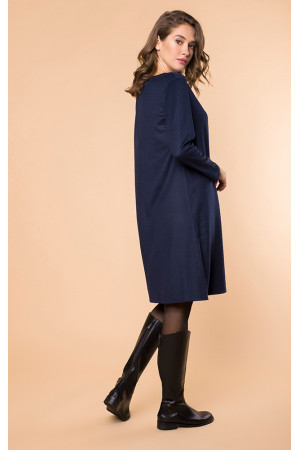 Сукня «Жоржетта» темно-синього кольору