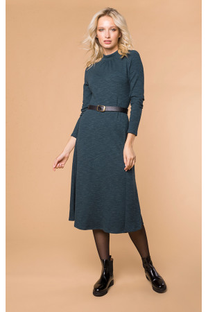 Платье «Реми» зеленого цвета
