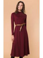 Сукня «Ремі» бордового кольору