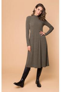 Сукня «Нобі» кольору хакі