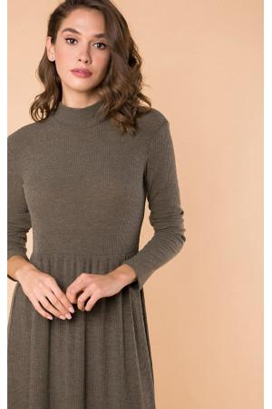 Платье «Ноби» цвета хаки