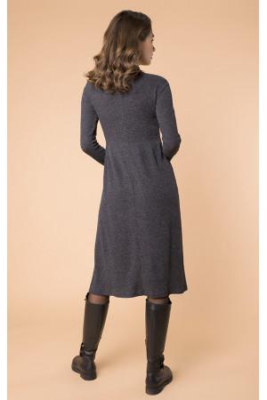 Платье «Ноби» серого цвета