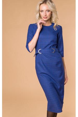 Платье «Табия» синего цвета