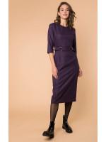 Платье «Табия» фиолетового цвета
