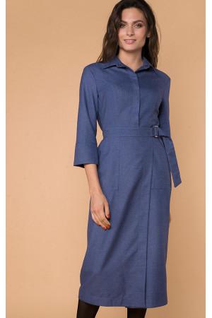 Платье «Гала» синего цвета