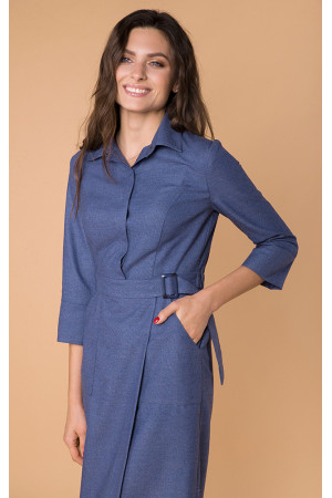 Сукня «Гала» синього кольору