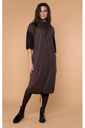 Сукня «Трім» коричневого кольору