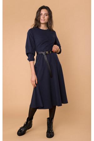 Сукня «Аміна» синього кольору