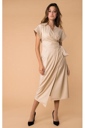 Сукня «Ернеста» бежевого кольору
